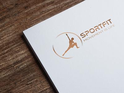 Sportfit Logo branding design logo