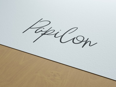 Papilon Design branding typography graphic  design logo