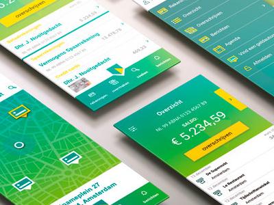 Banking app design app