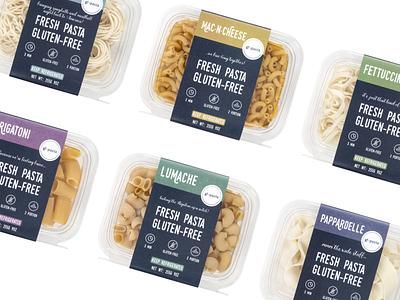 Package for GF-Pasta design logo branding brand identity graphic design brand pasta design packaging food package food pasta package package design