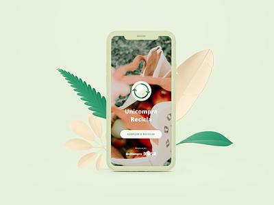 App Recicla (em construção) ui