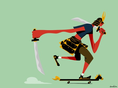 Samurai Skater