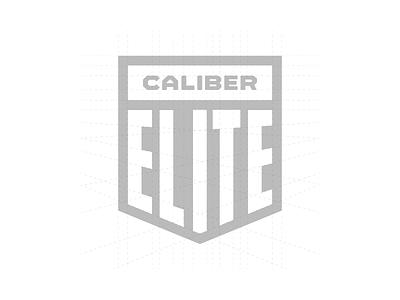 Caliber Elite Branding caliber media 2020 caliber marketing typography logo design branding brand