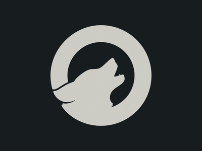 Wolf Logo Outtake graphic design design wolf illustration vector logo logo design identity design
