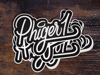 Phiger1 Stickers