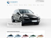 Vodiff homepage