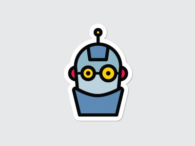 Robot Mascot illustration character avatar vector logo icon mascot robot