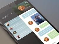 Instant Messenger app concept