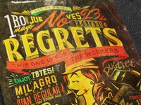 No regrets - Workers' day Flyer