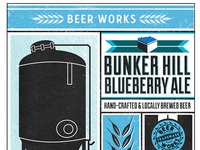Blueberry beer