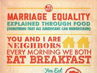 Marriage equality blake ink united