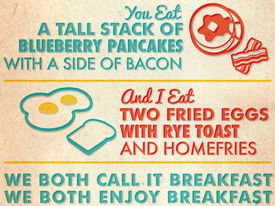 Marriage Equality (Via Breakfast)