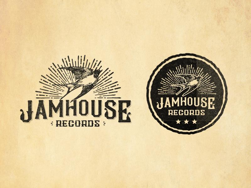 Logo (WIP) branding bird record label lactose intolerant