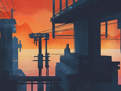 Moisture Station On Mallikarjunan Prime space scifi illustration