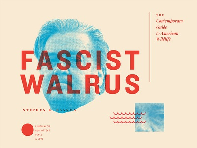 The More You Know walrus resist trump usa