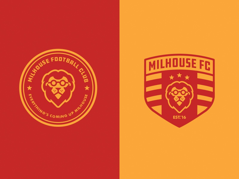 milhouse fc 17 by blake ink dribbble dribbble