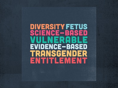 CDC Banned Words fuck this nonsense anti-science words trump cdc