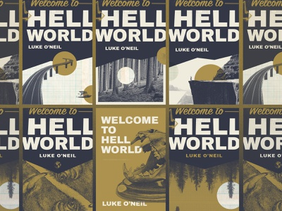 Welcome To Book Covers branding journalism skull hell book cover book