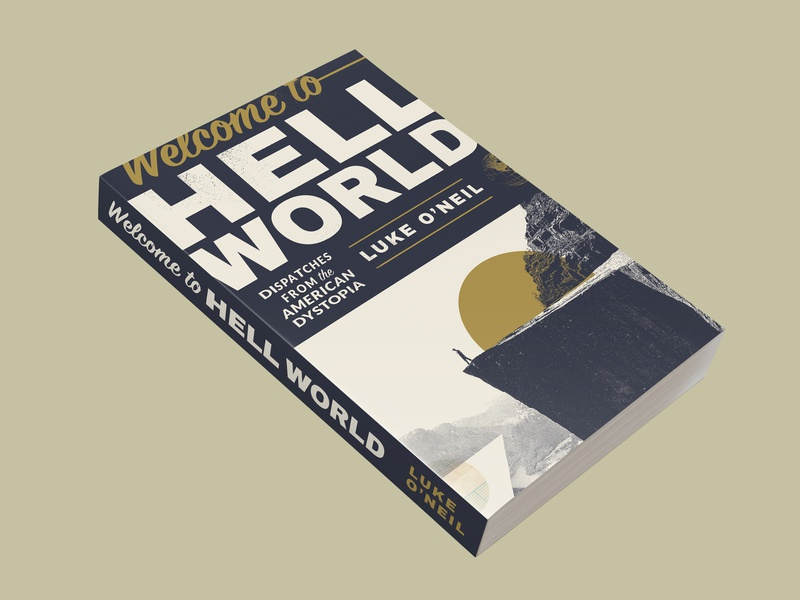 Welcome To Hell World collage hell book covers book cover book