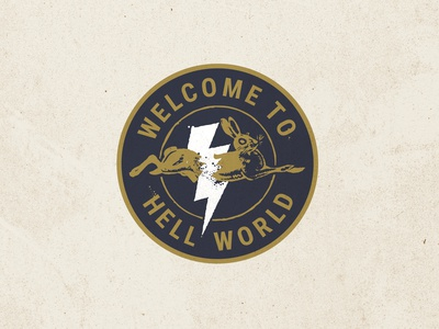 Welcome To Hell Pin