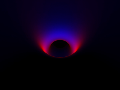 Light Dance eye colorful octane after effects movement dark animation clean minimal glow neon tunnel hypnotic sound design light gradient cinema 4d