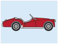 Triumph Sports Car