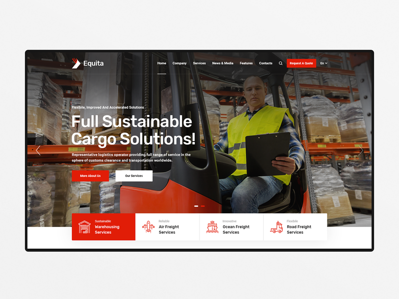 Equita Transport Theme warehouse trucking wordpress theme transportation transport wordpress theme transport company shipping company shipment moving company wordpress theme logistics company delivery service delivery company courier wordpress theme cargo