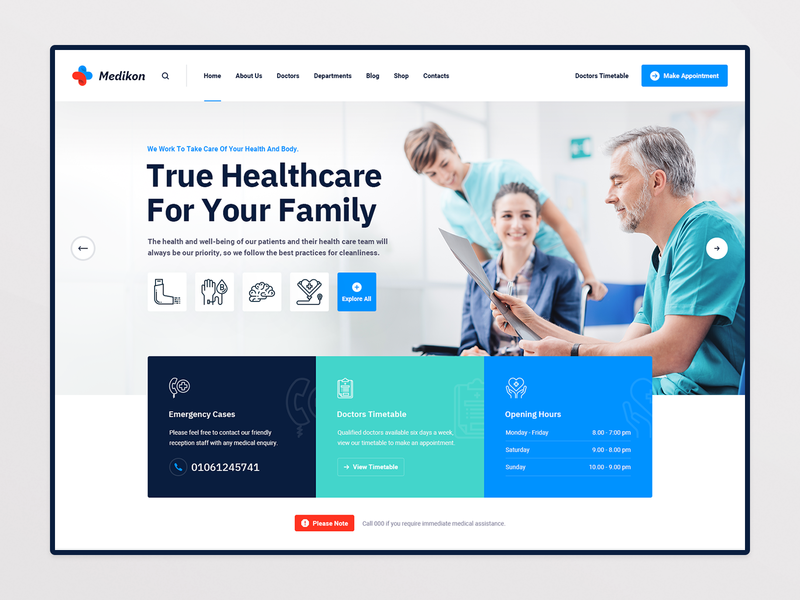 Medikon Health product design website website design webdesign surgeon corona clinic pharmacy physician dentist dental medical care healthcare health care doctor medicine medical hospital health