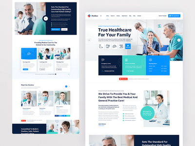 Medikon Main web uxdesign user interface design user interface userinterface surgeon corona clinic pharmacy physician dentist dental medical care healthcare health care doctor medicine medical hospital health