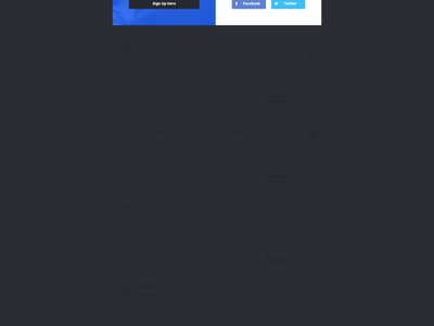 Discy Questions and Answers website web uxdesign ux user interface user experience ui social network social answers wiki question and answer points and badges minimal knowledge base helpdesk discussion community ask questions