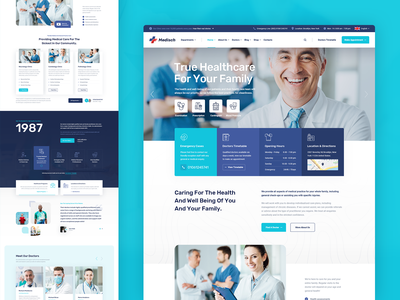 Medisch Main uxdesign user interface design user interface userinterface surgeon corona clinic pharmacy physician dentist dental medical care healthcare health care doctor profile doctor medicine medical hospital health