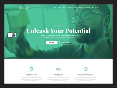 League - Creative Multi-Purpose WordPress Theme
