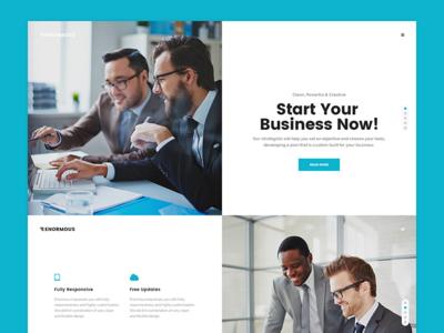 Enormous - Responsive Multi-Purpose WordPress Theme