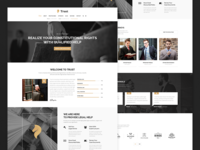 Trust - Lawyer & Attorney Business Theme