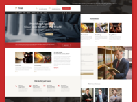 Red Trust - Lawyer & Attorney Business Theme