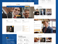 Blue Trust - Lawyer & Attorney Business Theme