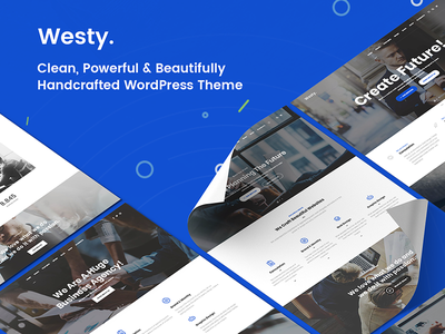Westy Showcase agency business agency business consulting business wordpress creative finance business freelance multi purpose niche parallax seo small business