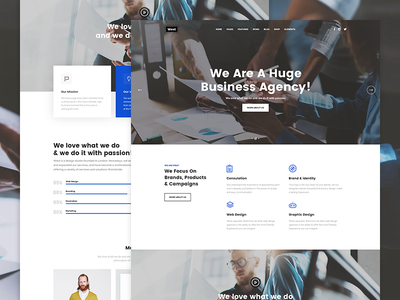 Westy Business Agency finance business agency blog company seo one page multipurpose design business flat small business business wordpress creative portfolio corporate