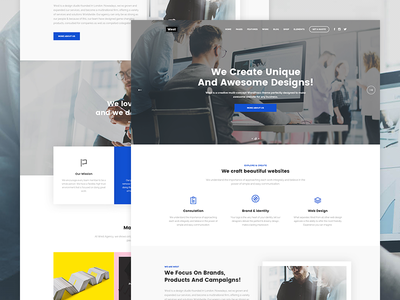 Westy Web Studio agency company business agency clean seo multipurpose small business portfolio business wordpress blog business design creative corporate
