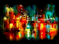 Oil Paint street