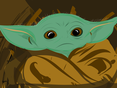 Baby Yoda Quick Sketch