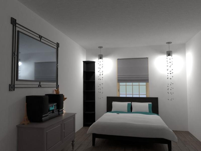 WIP: Interior Design Graphic bedroom adobe photoshop graphic design interior design