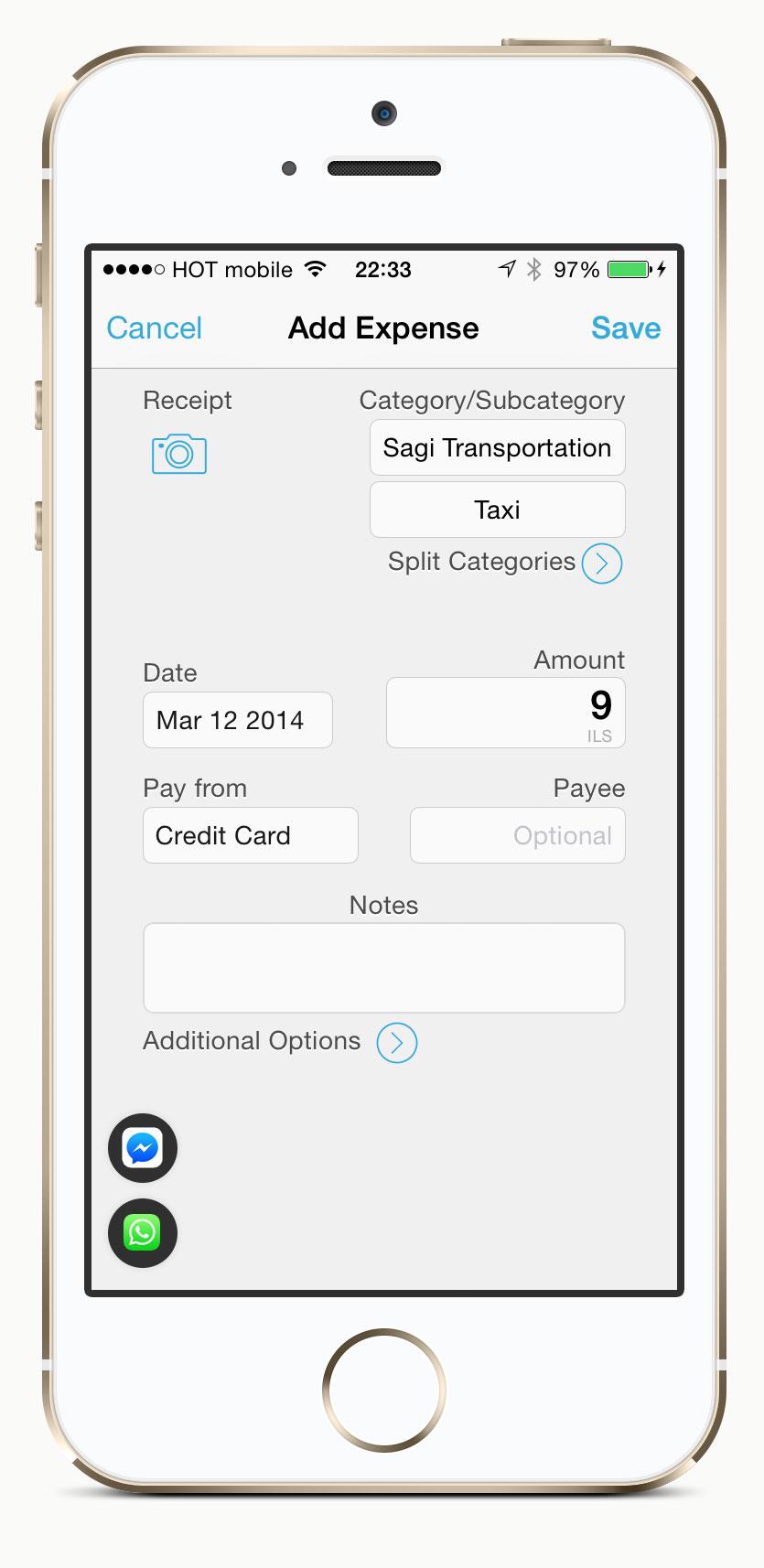 App screen zen not concept2items