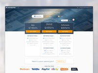 SimilarWeb Pricing Page design