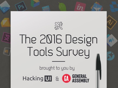 Take the 2016 Design Tools Survey! survey hacking ui tools design
