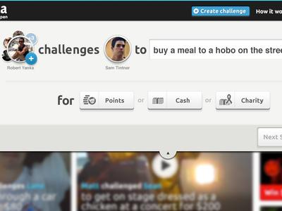 Create a challenge panel
