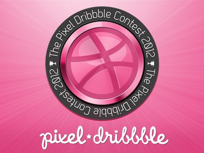 Dribbble contest image for Pixel Perfect Magazine contest dribbble ball
