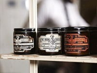 The Iron Society - pomade branding / packaging