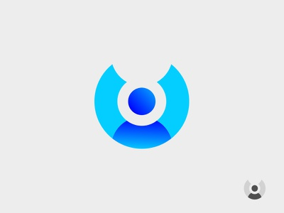 User Icon 01 sign target segmentation shape circle round simple flat interface vector user icon