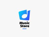 Music Store Logo Concept